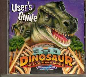 Serious Game Classification : 3-D Dinosaur Adventure