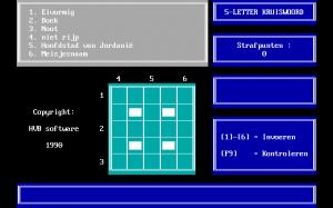 5-Letter-Kruiswoord