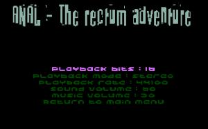 ANAL: The Rectum Adventure