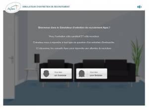 Simulateur d'entretien de recrutement APEC