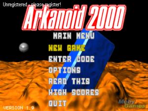 Arkanoid 2000