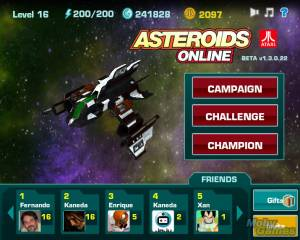 Asteroids Online