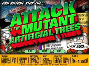 Attack of the Mutant Artificial Christmas Trees