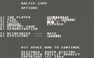 Baltic 1985