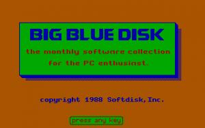 Big Blue Disk #26