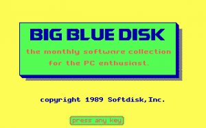 Big Blue Disk #29