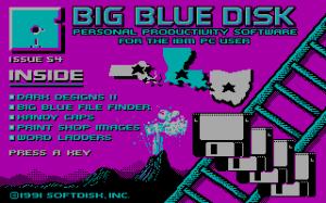 Big Blue Disk #54