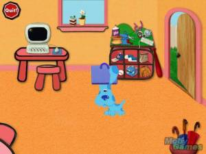 Blue\'s Clues: Blue\'s Art Time Activities