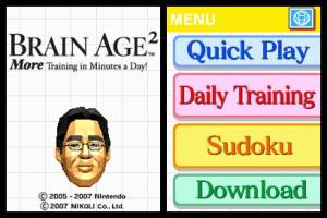 Brain Age 2: More Training in Minutes a Day / More Brain Training from Dr. Kawashima: How Old Is You