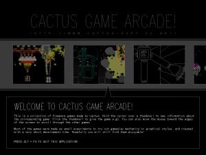 Cactus Arcade