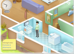 un gameplay inspiré des Sims