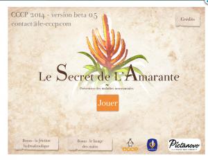 Le secret de l'Amarante