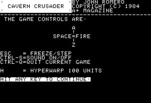 Cavern Crusader