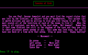 Caverns of Gink