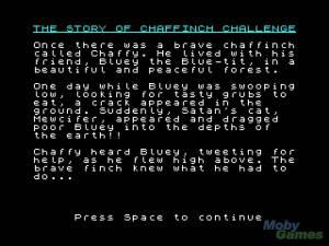 Chaffinch Challenge