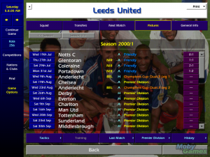 Championship Manager: Season 00/01