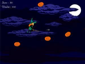 Mélusine : La nuit des citrouilles volantes