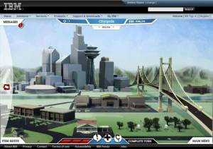 CityOne: A Smarter Planet game