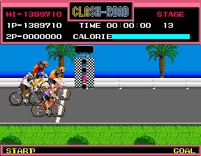 Clash-Road