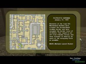 Conflict: Desert Storm is the first video game in the Conflict series