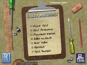 Crazy Machines: Neues aus dem Labor