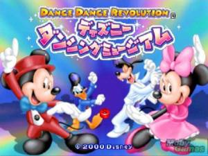 Dance Dance Revolution: Disney Dancing Museum