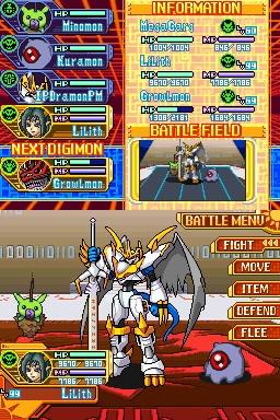 Digimon World Dusk / Digimon World Dawn