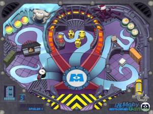 Disney/Pixar\'s Monsters Inc.: Pinball Panic Mini Game