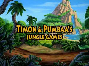 Disney\'s Timon & Pumbaa\'s Jungle Games
