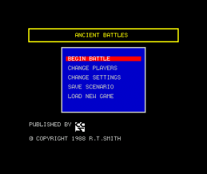 Encyclopedia of War: Ancient Battles