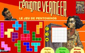L\'&eacute;nigme Vermeer - Le jeu de pentominos