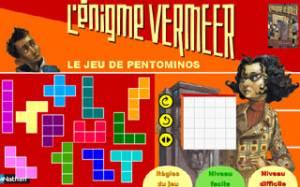 L'énigme Vermeer - Le jeu de pentominos