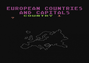 European Countries &amp; Capitals