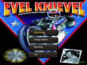 Evel Knievel Interactive Stunt Game