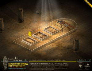 Fascinantes momies d'Egypte