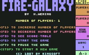 Fire Galaxy