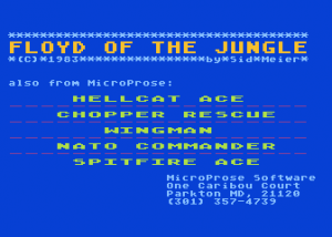 Floyd of the Jungle (Version II)