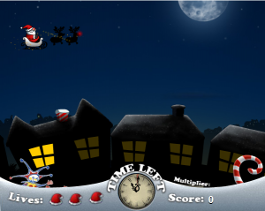 Free Santa vs Jack flash game