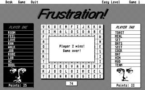 Frustration!