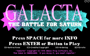 Galacta: The Battle for Saturn