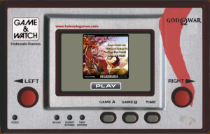 Game & Watch: God of War