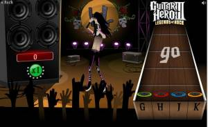 Guitare Hero 3 game promotion