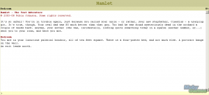 Hamlet: The Text Adventure