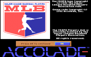 HardBall III: MLBPA Players Disk