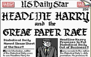 Headline Harry and The Great Paper Race