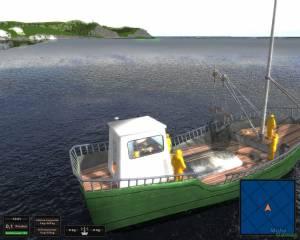 Hochseefischen: Die Simulation