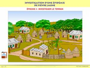 Investigation dune &eacute;pid&eacute;mie de fi&egrave;vre jaune