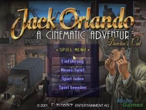 Jack Orlando: A Cinematic Adventure (Director\'s Cut)