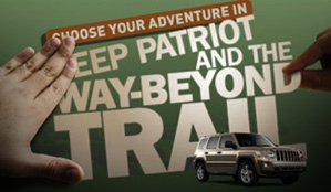 Jeep Patriot and the Way-Beyond Trail