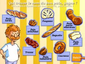 Le jeu du pain